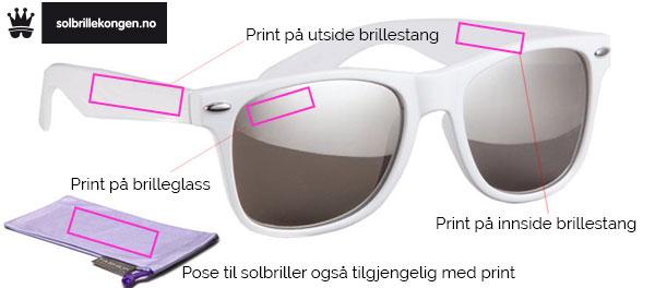 00c15681 Solbriller med logo eller trykk